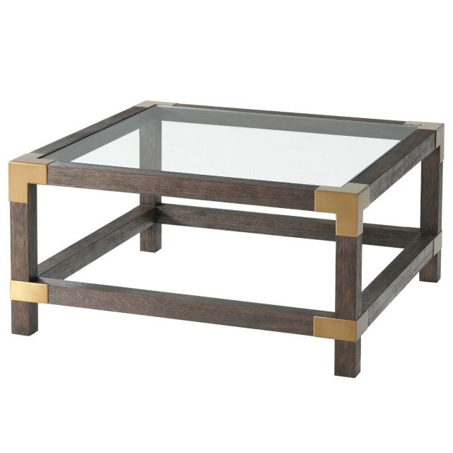 TA Studio Square Coffee Table Morrison - Cardamon & Brass