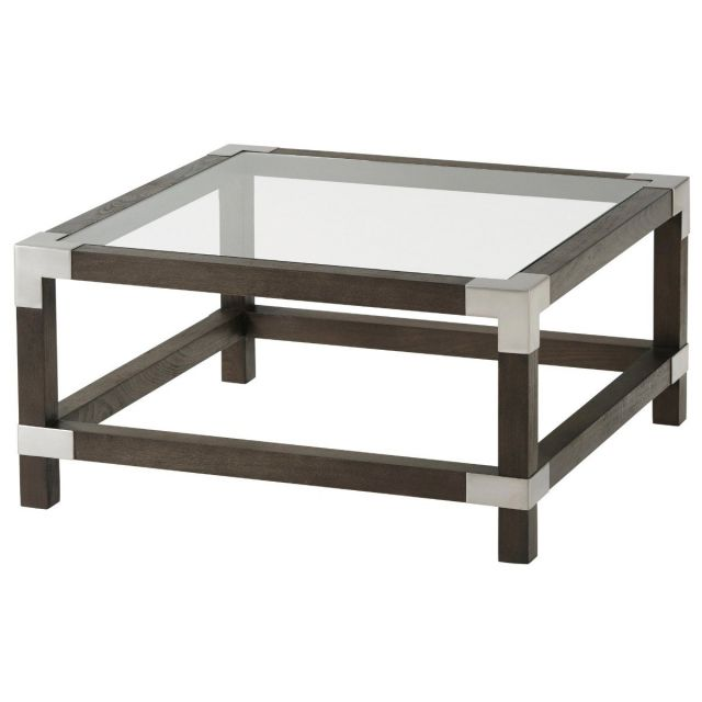 TA Studio Square Coffee Table Morrison - Anise & Nickel