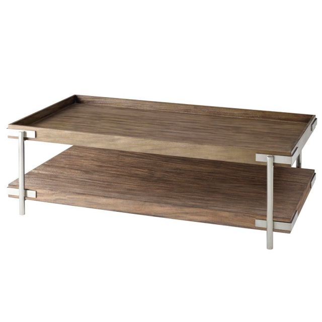 TA Studio Coffee Table Casseopia - Mangrove & Nickel