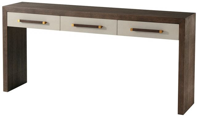 TA Studio Console Table Isher 3 Drawer in Cardamon