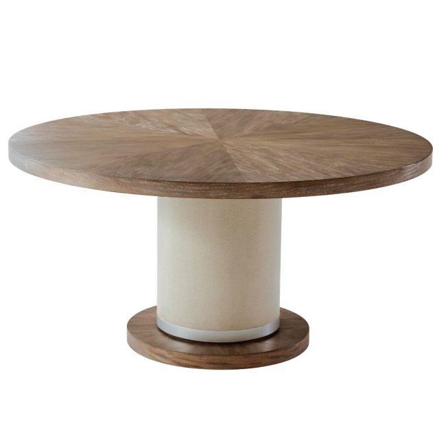 TA Studio Round Dining Table Sabon in Mangrove