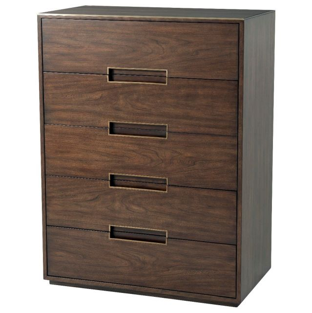 TA Studio Tall Chest of Drawers Bosworth in Almond