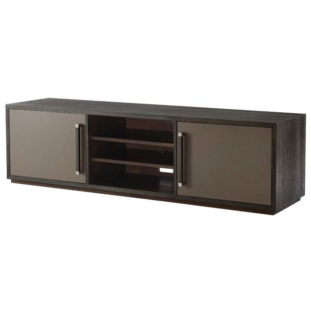 TA Studio Media Cabinet Williamson - Anise & Nickel