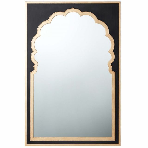 Theodore Alexander Wall Mirror Jaipur II - Black