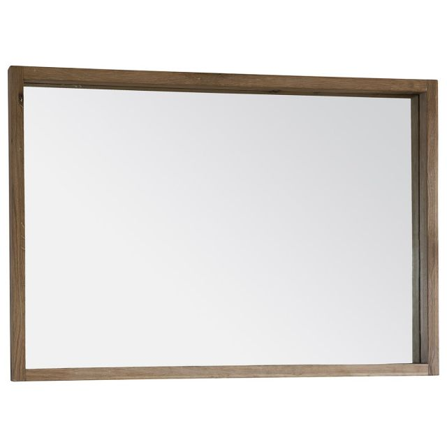 Pavilion Chic Wall Mirror Saratov with Oak Frame