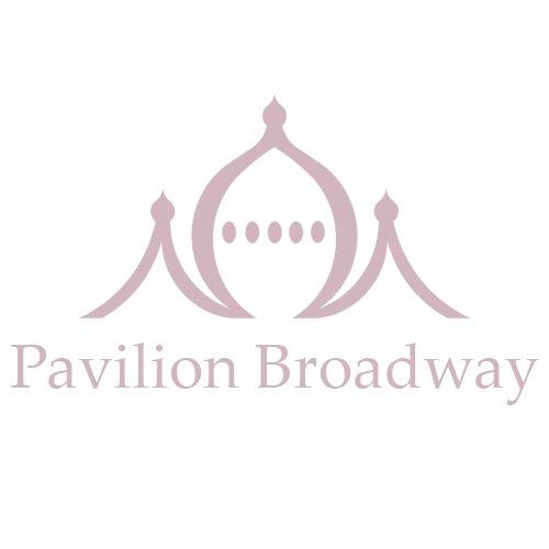Pavilion Chic Console Table Demi Lune Elegant in Black Metal