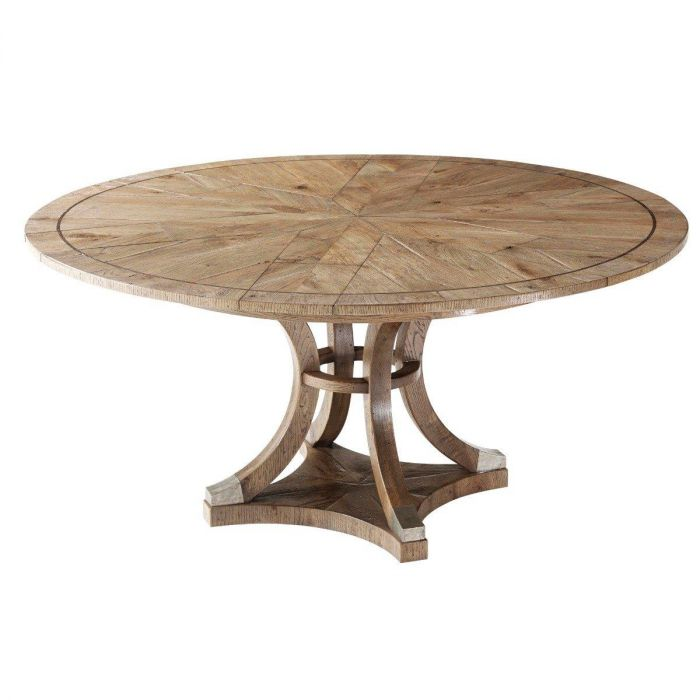 Theodore Alexander Dining Table Round Devereaux Pavilion Broadway
