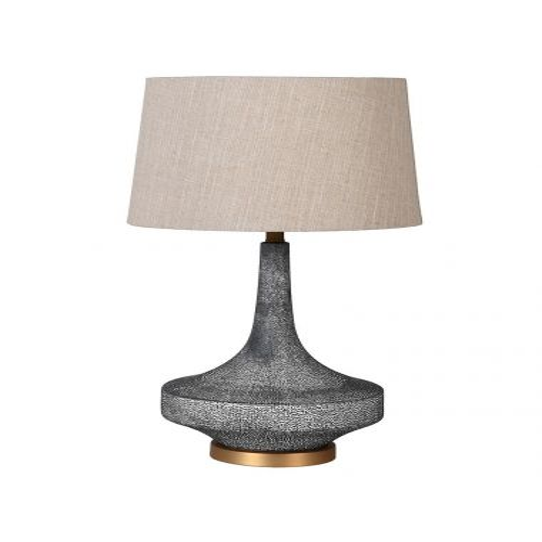 Pavilion Chic Louise Faux Shagreen Table Lamp | Pavilion Broadway