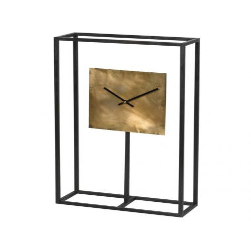 Minimalist Gold & Black Clock | Pavilion Broadway