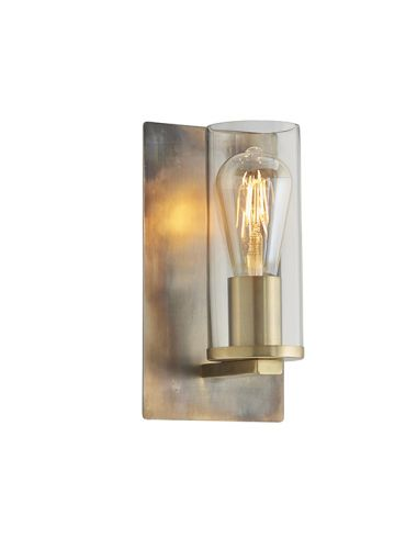 Alfred Wall Light in Bronze | Pavilion Broadway