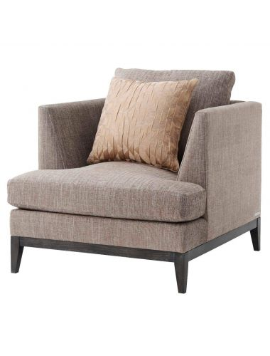 TA Studio Armchair Byron in Taupe | Pavilion Broadway