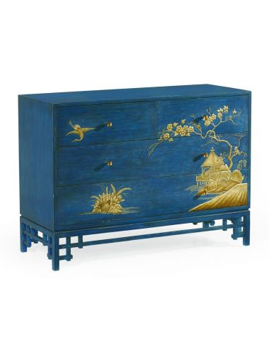 Jonathan Charles Chest of Drawers Chinoiserie | Pavilion Broadway