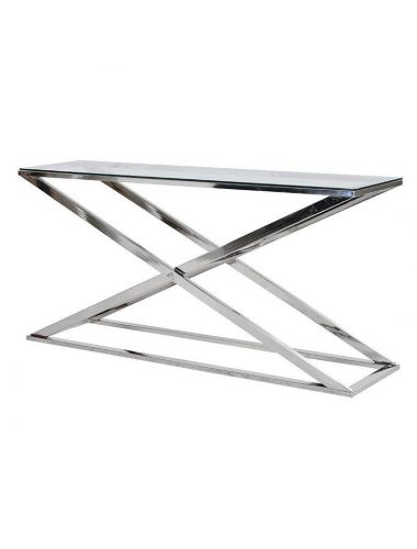 Pavilion Chic Console Table X-frame Fort | Pavilion Broadway