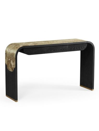 Jonathan Charles Curved Console Table Chinoiserie | Pavilion Broadway