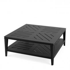 Eichholtz Bell Rive Square Coffee Table - Black