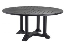 Bell Rive Dining Table 160cm - Black