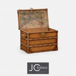 Jonathan Charles Steamer Trunk Travel