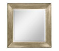 Jonathan Charles Antique Gold Square Wall Mirror