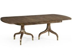 Jonathan Charles Bleached Mahogany Extending Dining Table