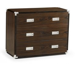 Jonathan Charles Military Chest of 3 Drawers