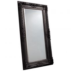 Pavilion Chic Mawles Carved Floor Mirror