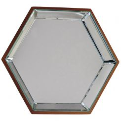 Pavilion Chic Leys Hexagon Mirror Set of 6