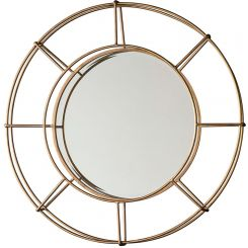 Pavilion Chic Courtland Wire Frame Mirror