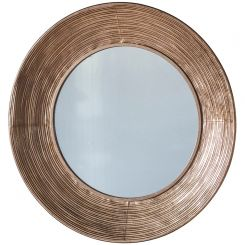 Pavilion Chic Cotshill Copper Coloured Mirror