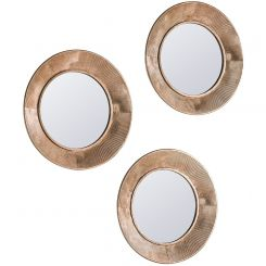 Pavilion Chic Cotshill Set of 3 Round Mirrors