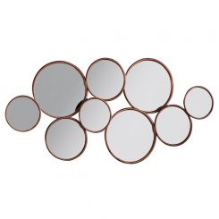 Pavilion Chic Brassey Multi Circle Mirror