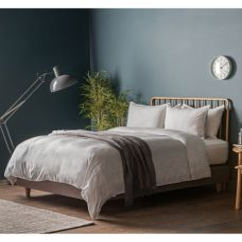 Pavilion Chic Smart Stripe Bed Linen Grey