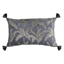 Pavilion Chic Palm Trees Metallic Cushion