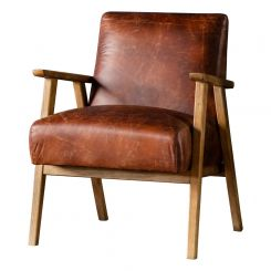 Pavilion Chic Hereford Mid Century Style Armchair