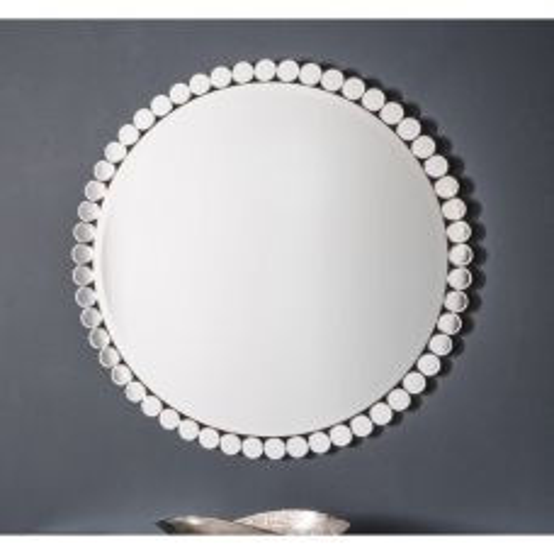 Pavilion Chic Smart Round Glass Wall Mirror