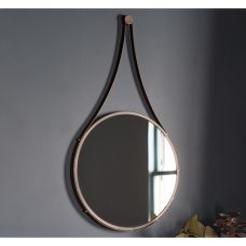 Pavilion Chic Drift Round Hanging Wall Mirror