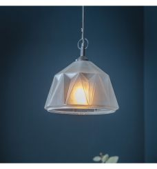 Pavilion Chic Igloo Frosted Glass Dome Pendant Light