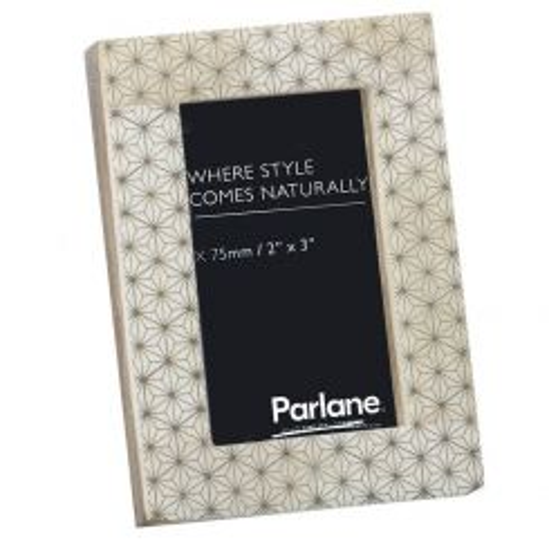 Parlane Diamonds Pattern Rectangle Photo Frame
