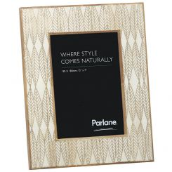 Parlane Rectangle Leaves Photo Frame