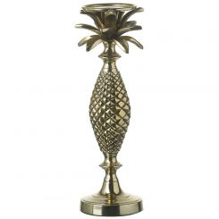 Parlane Palm Tree Gold Candle Stick