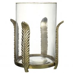 Parlane Hurricane Feather Candle Holder