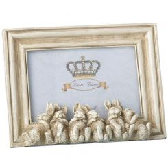 Parlane Rabbits Chilling Photo Frame