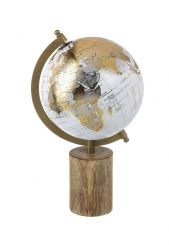 Parlane Metallic Globe on Base