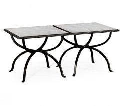 Jonathan Charles Coffee Table Contemporary Set of 2