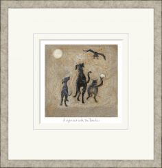 Pavilion Art A Night Out with the Beasties by Sam Toft - Limited Edition Framed Print