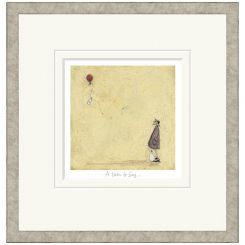 Pavilion Art A Note To Say by Sam Toft - Limited Edition Framed Print