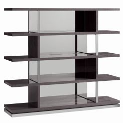 ALF Italia Large Bookcase Heritage Mirrored