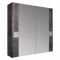 ALF Italia Wardrobe Heritage with Mirrored Sliding Doors