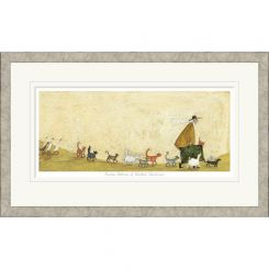 Pavilion Art Another Suitcase Of Sardine Sandwiches by Sam Toft - Limited Edition Framed Print