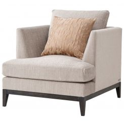 TA Studio Armchair Byron in Morgan Linen