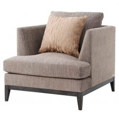 TA Studio Armchair Byron in Morgan Taupe